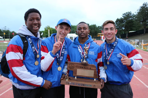 Track Team Wins Hotly-Contested State Meet