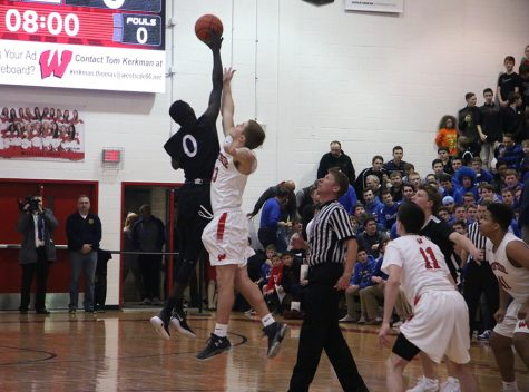 PHOTOS: Varsity Basketball vs. Westside