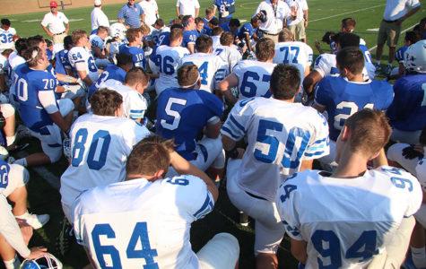 PHOTOS: Blue-White Varsity Football