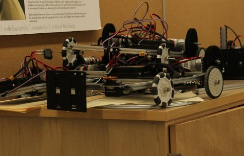 Robotics Club Preparing for Championships